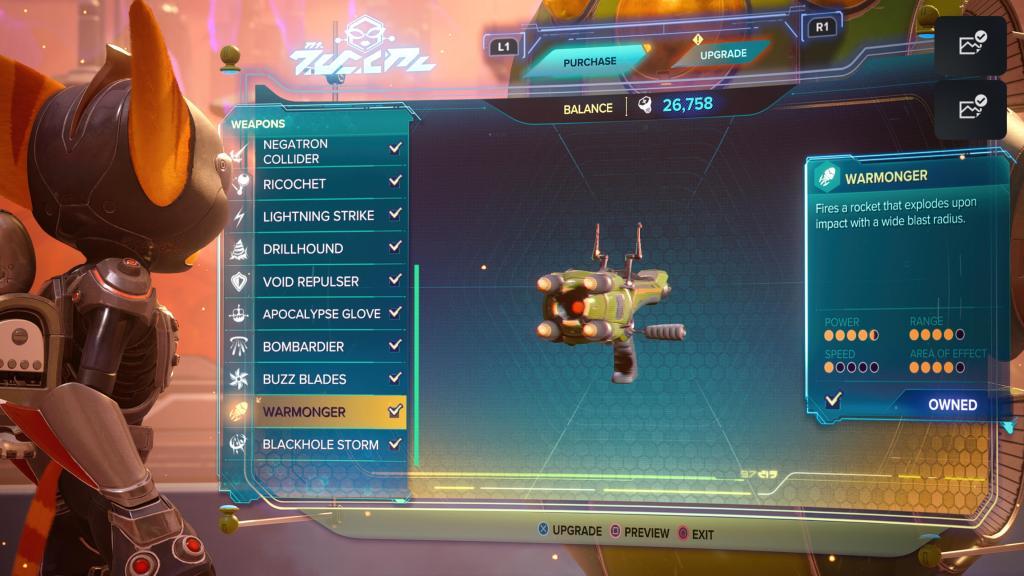 Ratchet and Clank Rift Apart Warmonger