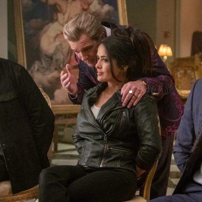Ryan Reynolds and Salma Hayek in The Hitman Bodyguard