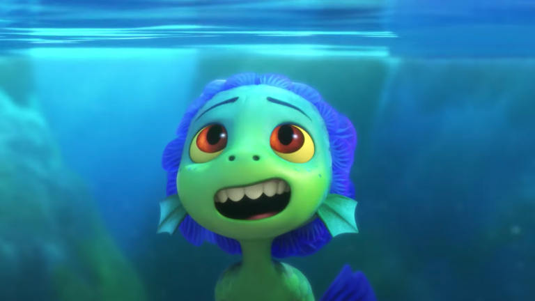 Sea Monster in Pixar's Luca