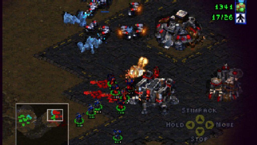 StarCraft N64 gameplay
