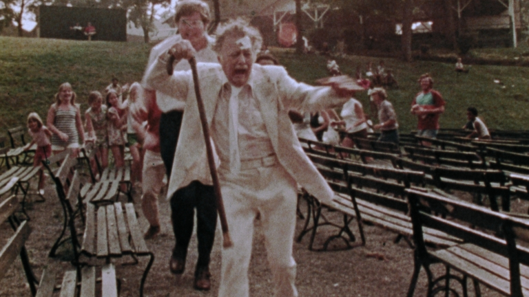 Lincoln Maazel chased in The Amusement Park