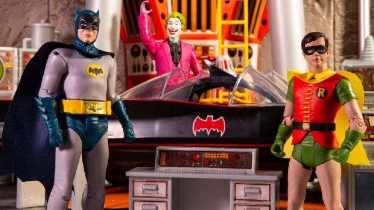 Batcave Playset based on 1966's Batman TV Series