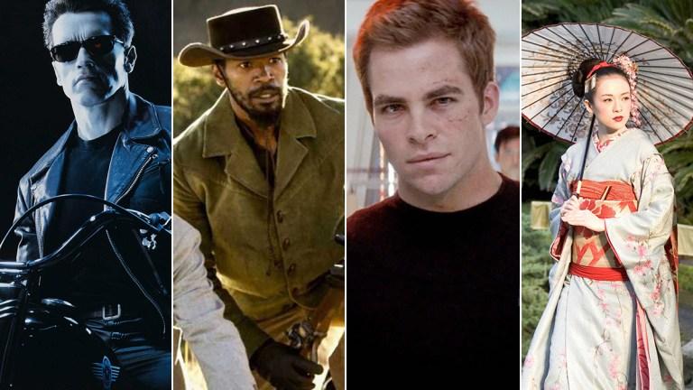 Terminator 2, Django Unchained, Star Trek, and Memoir of a Geisha