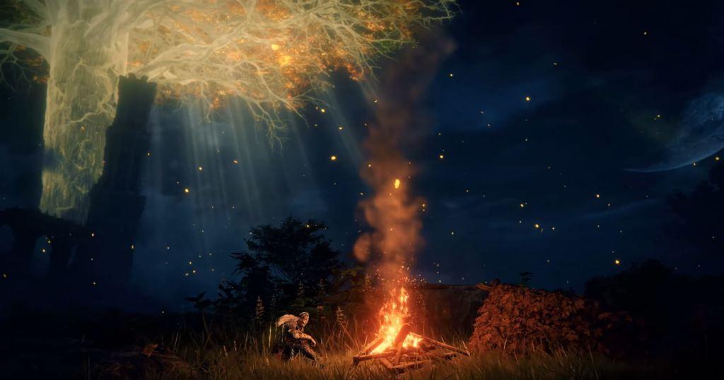 Elden Ring fire trailer