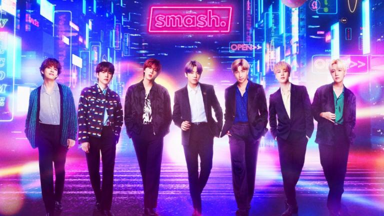 BTS in Smash City