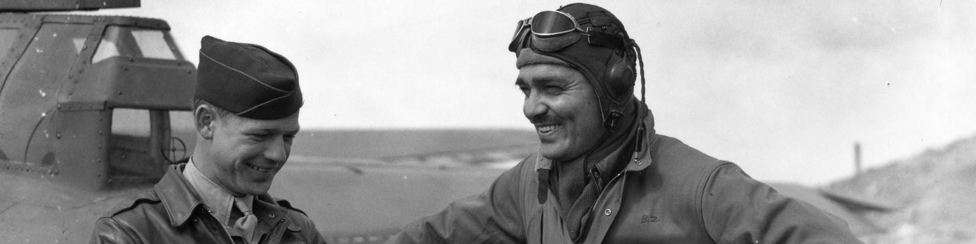 Clark Gable WW2 Hero Banner