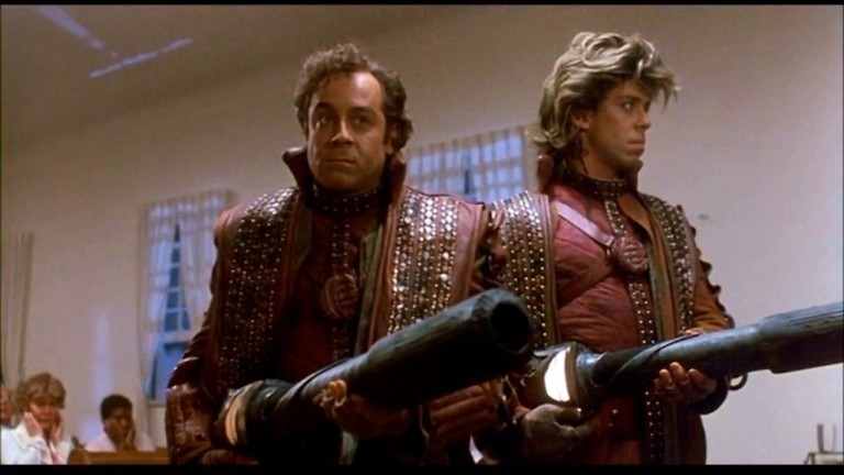 The Galactic Bounty Hunters in Critters (1986)