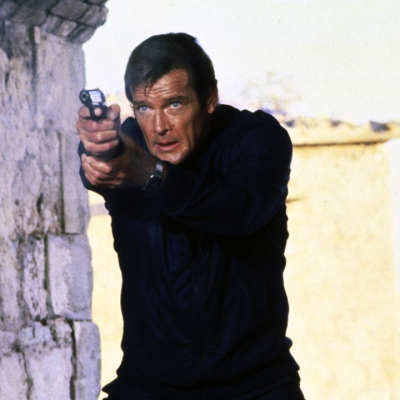 Roger Moore in For Your Eyes Only