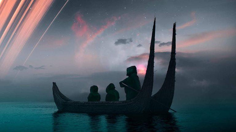 ships in night sky