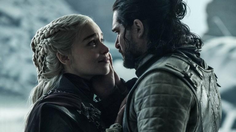 Game of Thrones finale: Emilia Clarke and Kit Harington