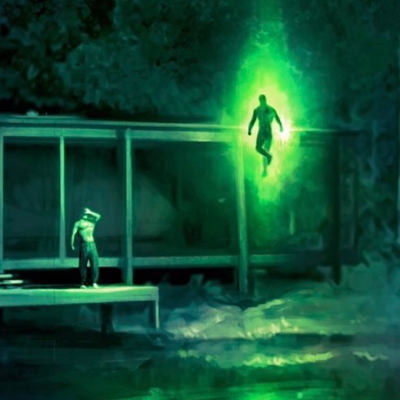 Green Lantern concept art from Zack Snyder's Justice League.