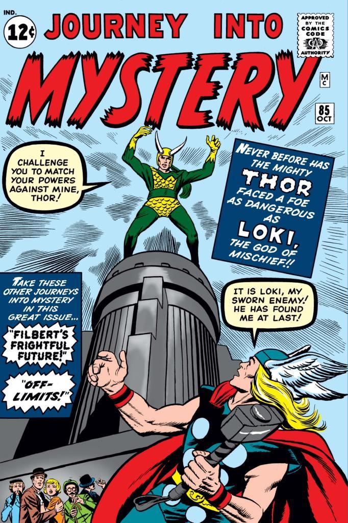 Journey Into Mystery # 85 avec Thor et Loki