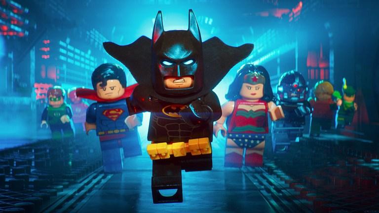 Justice League in The Lego Batman Movie.