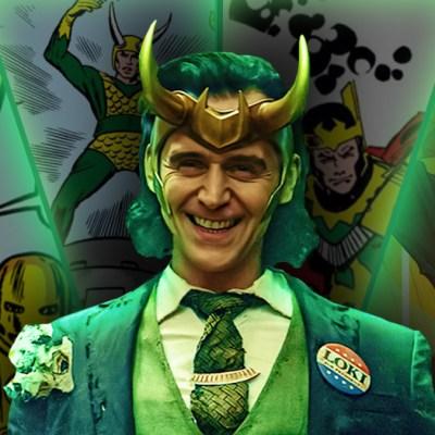 Tom Hiddleston as Loki and Marvel's Loki Comics