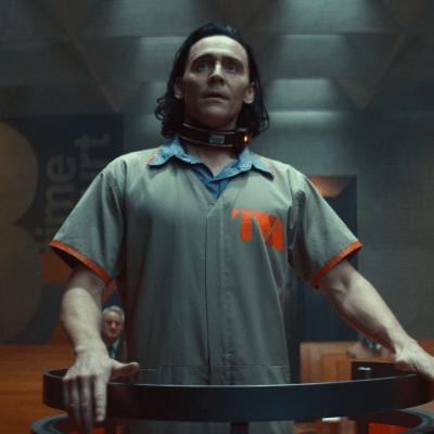 Tom Hiddleston as Loki in Episode 1