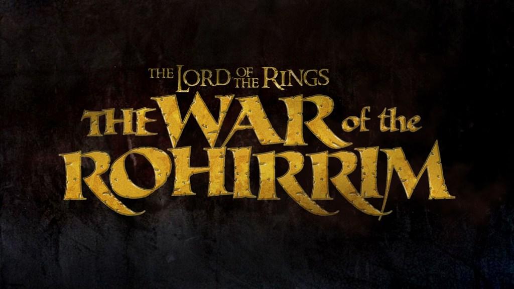 Logo du Seigneur des Anneaux : La Guerre des Rohirrim.