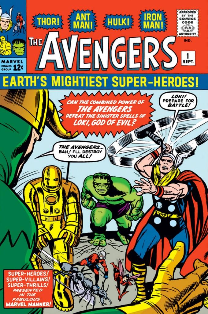 Marvel's Avengers #1 (1963)