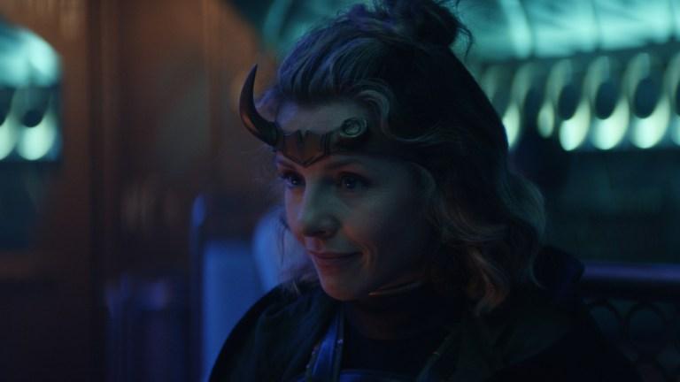 Sophia Di Martino as Sylvie in Marvel's Loki Episode 3