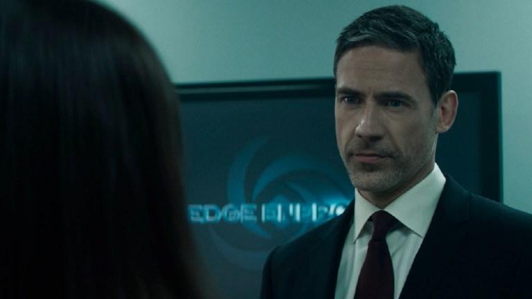 "Adam Rayner as Morgan Edge on Superman & Lois Episode 8 ""Loyal Subjekts"""