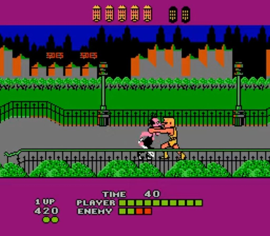 Bad Street Brawler NES