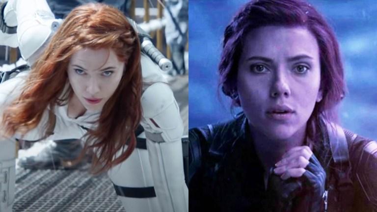 Scarlett Johansson in Black Widow and Avengers: Endgame