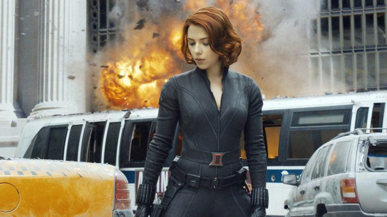 Black Widow in The Avengers