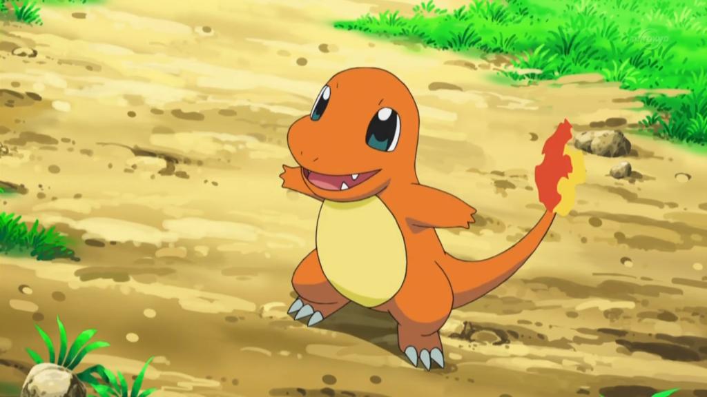 Charmander Pokemon anime