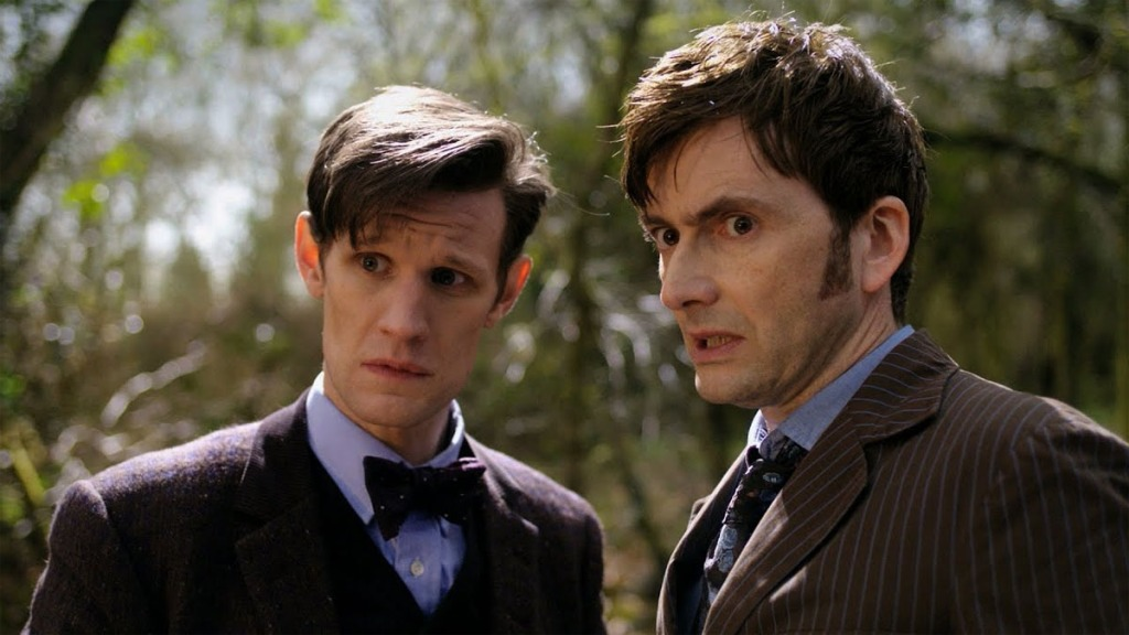 Doctor Who Doctor's Day Matt Smith David Tennant