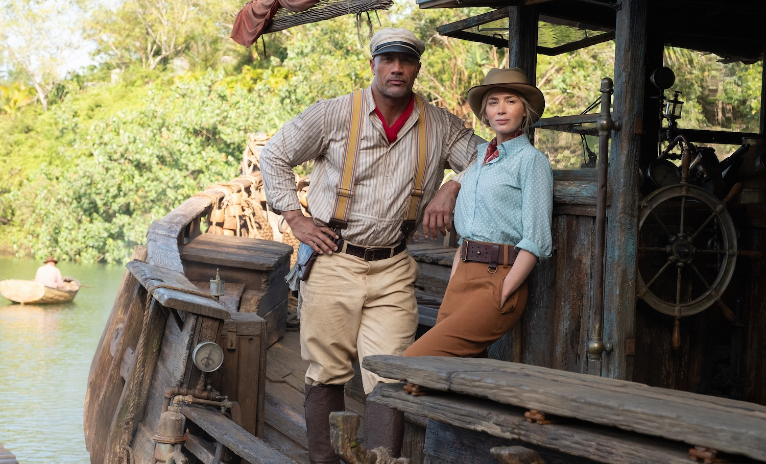 Jungle Cruise Review: Dwayne Johnson and Emily Blunt Make It a Pleasure - Den of Geek