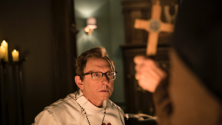 Leland Townsend (Michael Emerson) in Evil season 2