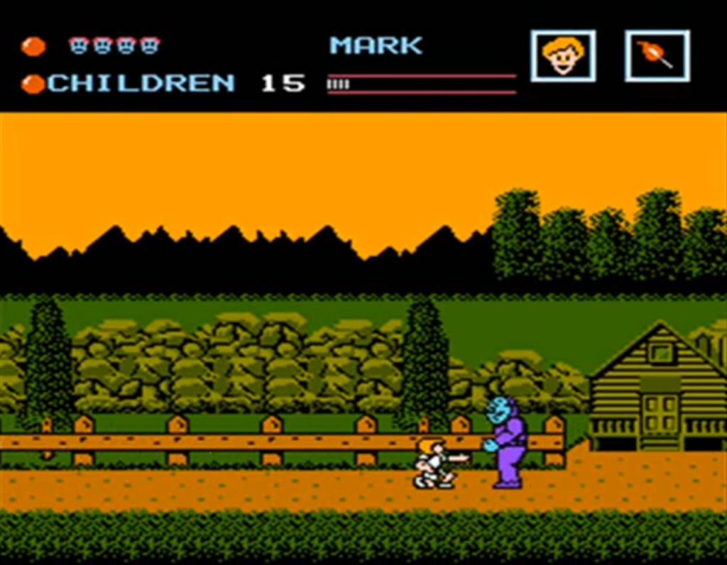 Friday the 13th NES game