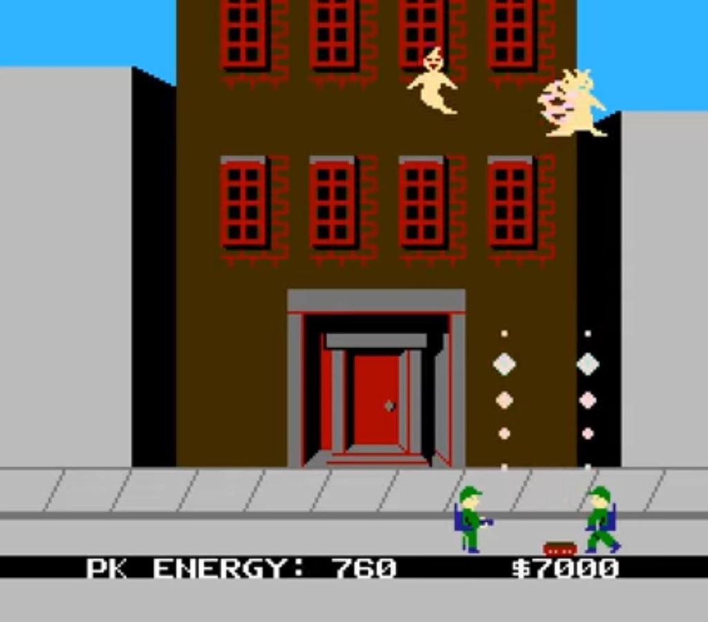 Ghostbusters NES game