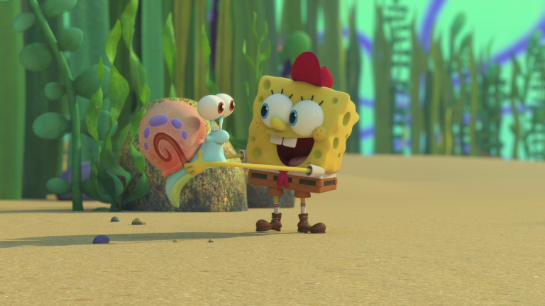 Young SpongeBob (Tom Kenny) in Kamp Koral
