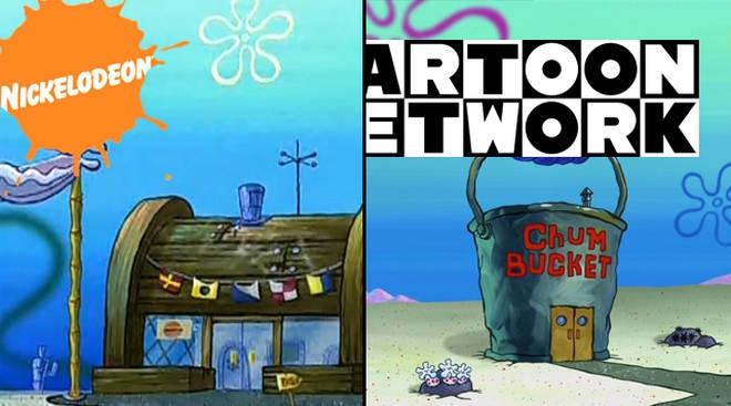 SpongeBob Memes - Krusty Krab v. Chum Bucket