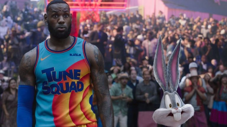 LeBron James and Bugs Bunny in Space Jam 2 Review