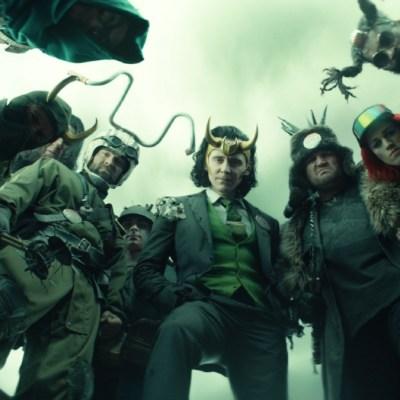 President Loki and his pals in Loki Episode 5