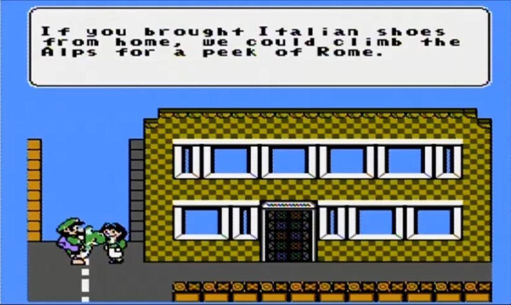 Mario is Missing NES