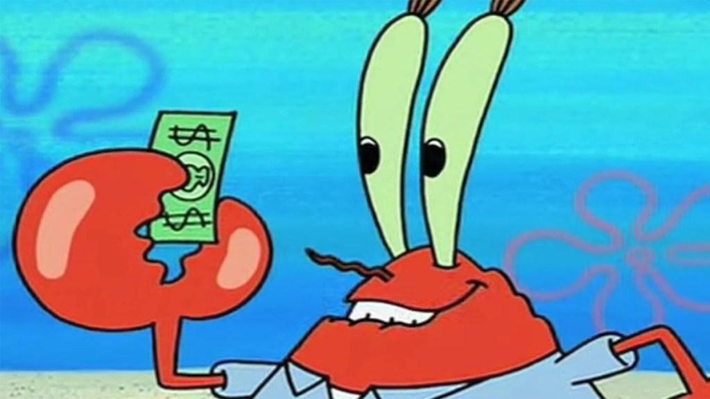 Mr Krabs Spongebob Squarepants