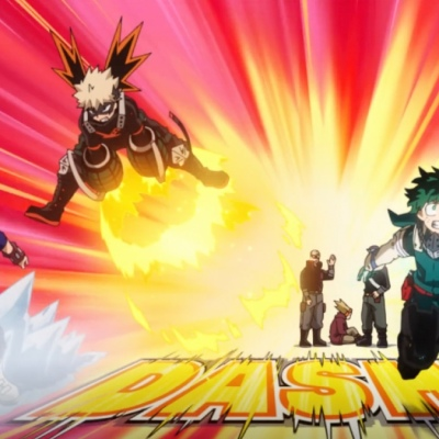 My Hero Academia Season 5 Episode 15 Trio Attack