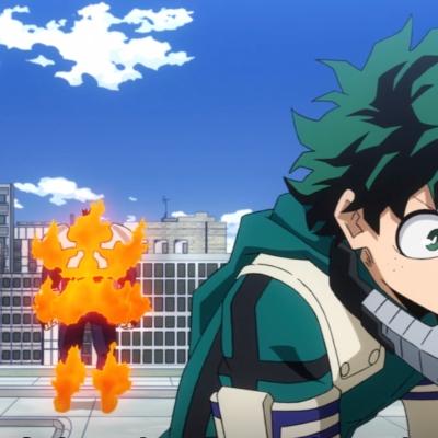 My Hero Academia Season 5 Episode 17 Endeavor Trio