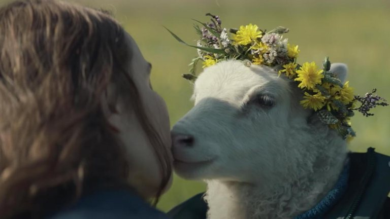 Noomi Rapace and Lamb in A24 Horror Movie