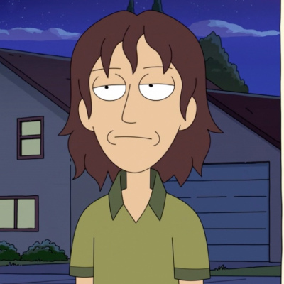 Bruce Chutback (Darren Criss) in Rick and Morty season 5