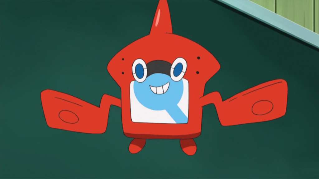 Rotom Pokédex Pokemon anime