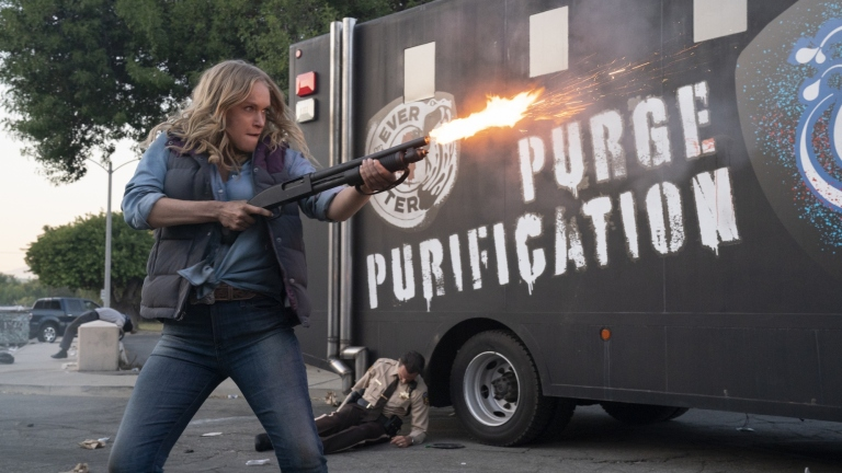 Leven Rambin in The Forever Purge