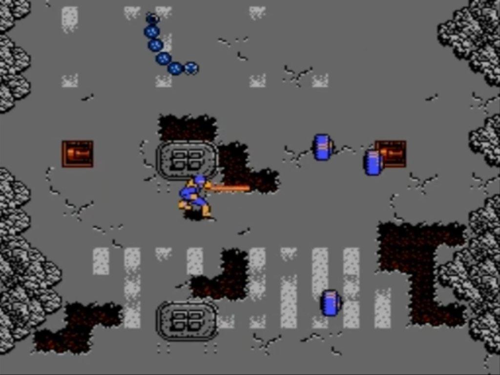 L'étrange X-Men NES