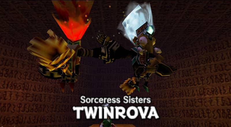 Twinrova - The Legend of Zelda: Ocarina of Time