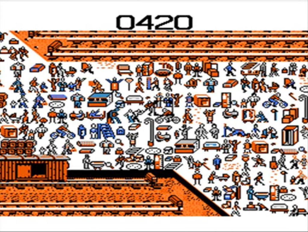 Where's Waldo NES