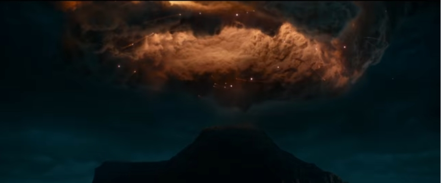 Ominous clouds from Ghostbusters: Afterlife
