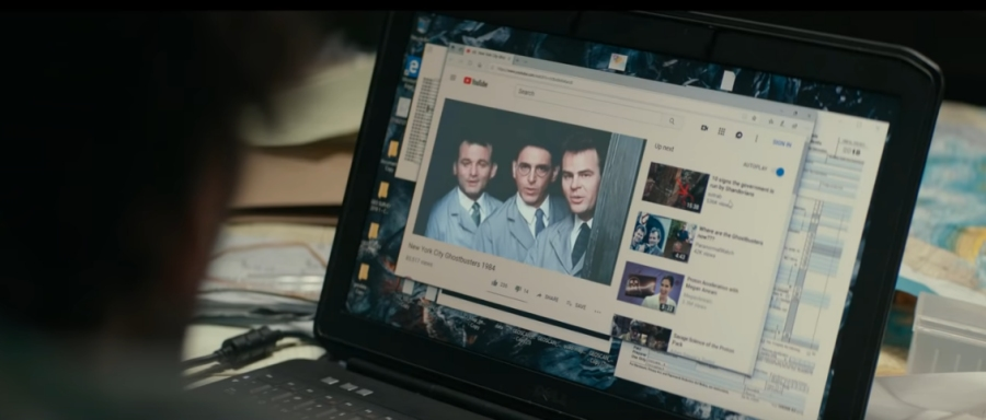 Ghostbusters on YouTube in Ghostbusters: Afterlife