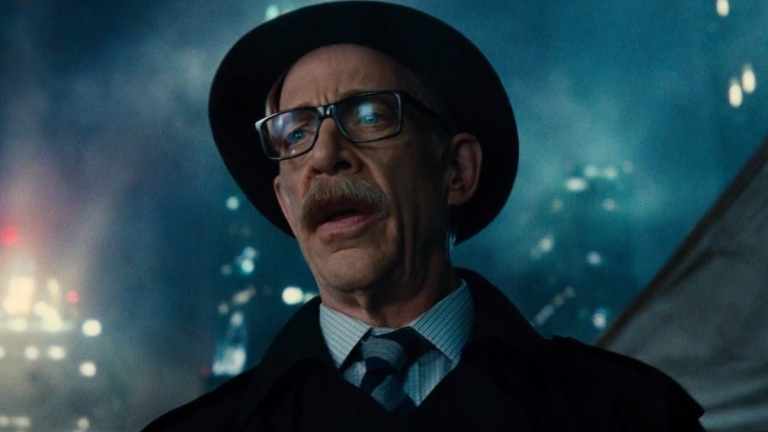 J.K. Simmons as Commissioner Gordon in Justice League.